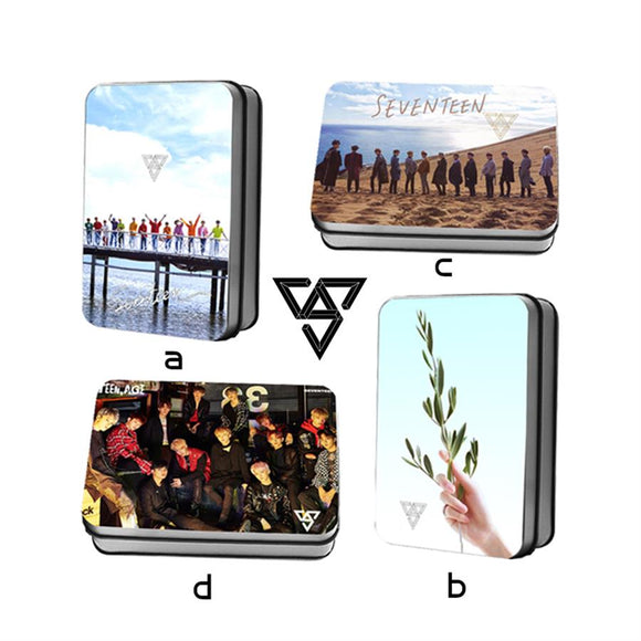 SEVENTEEN TEEN, AGE Album Lomo Card Box (40 pcs/ set)