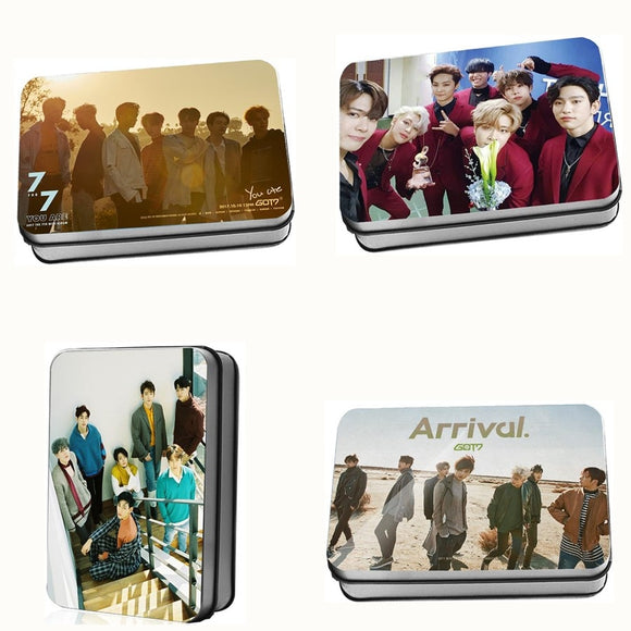 GOT7 Album Lomo Card Box