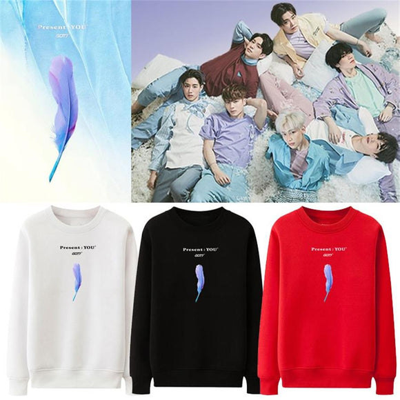 GOT7 Present: You Album Classic Sweatshirt (4 Colors)