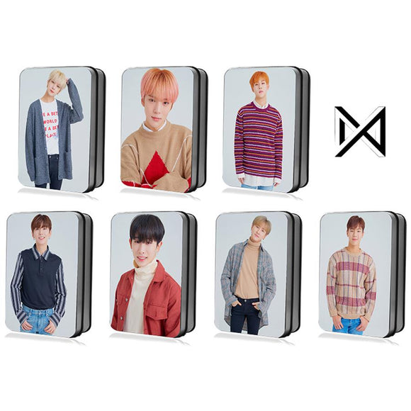 MONSTA X Member Lomo Card Box (30 pcs)