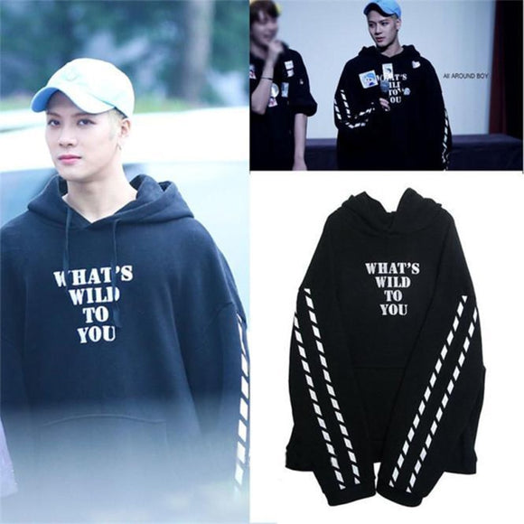 GOT7 JACKSON WHAT'S WILD TO YOU Cool Hoodie (3 Colors)