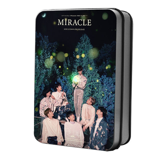 GOT7 Present: You & Me Miracle Lomo Card Box (40 pcs/ set)