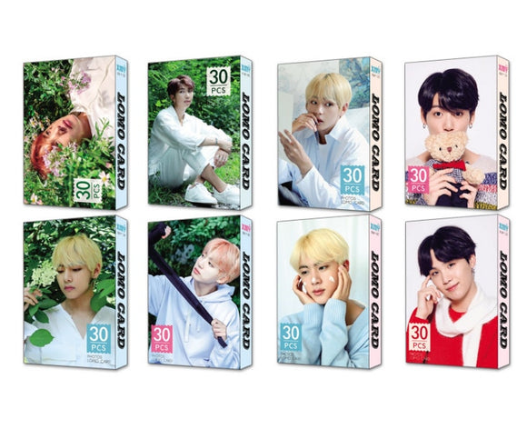 BTS Member Classic Photo Lomo Card (30 pcs)