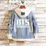 BTS ARMY Denim Jean Jacket