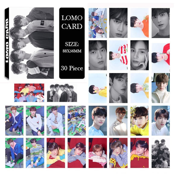TXT Tomorrow x Together Crown Album Lomo Card (30 pcs)