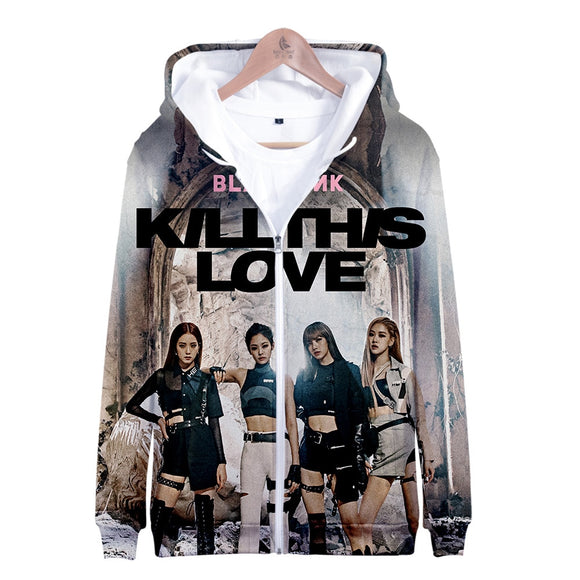 BLACKPINK KILL THIS LOVE 3D Printed Jacket (6 Designs)