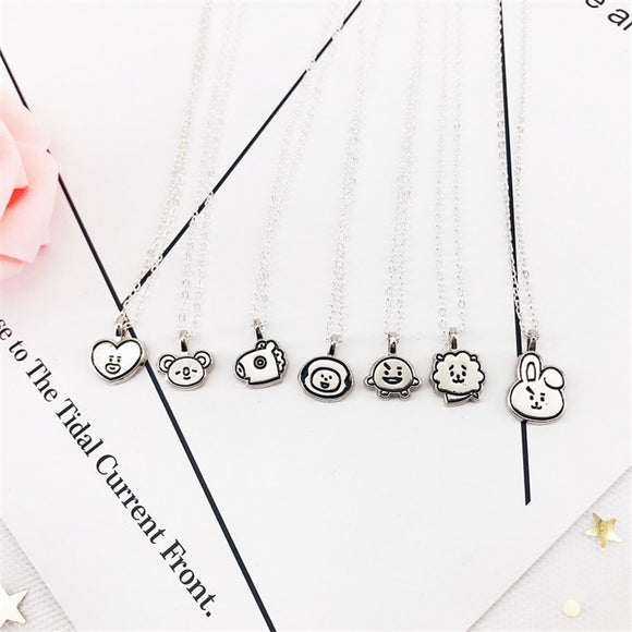 BT21 Signature Stainless Steel Necklace