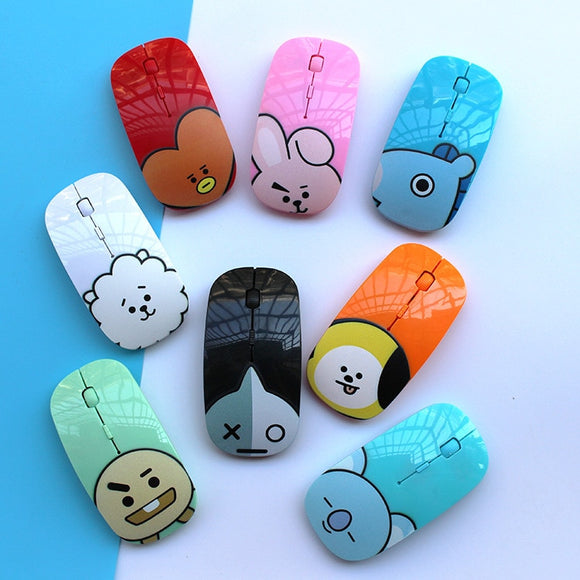 BT21 Character Lovely Wireless Mouse | BT21 Mouse | BTS Mouse