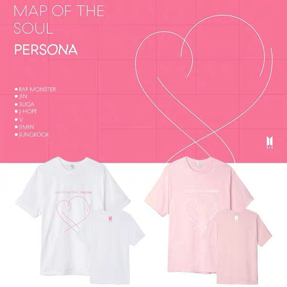 BTS Map Of The Soul Persona Classic T-Shirt (5 Colors)