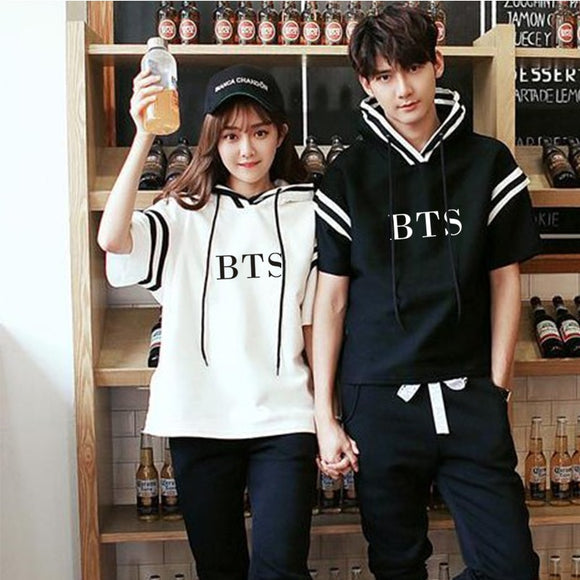 BTS Couple Classic Spring Hoodie (2 Colors)