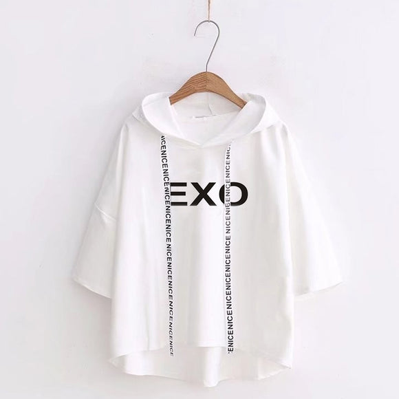 EXO Casual Pullover Top (5 Colors)