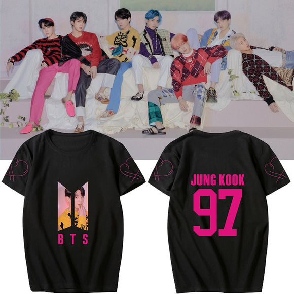 BTS Map Of The Soul Persona Member Classic T-Shirt (3 Colors)