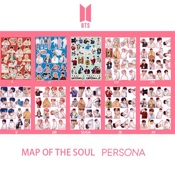 BTS Map of The Soul: Persona DIY Stickers