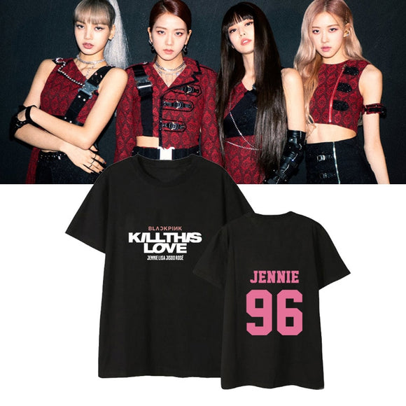 BLACKPINK KILL THIS LOVE Member Classic T-Shirt (4 Colors)