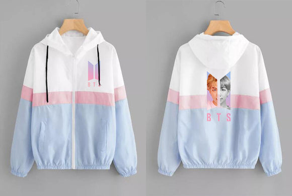 BTS Member Photo Active Wind Jacket (2 Colors)
