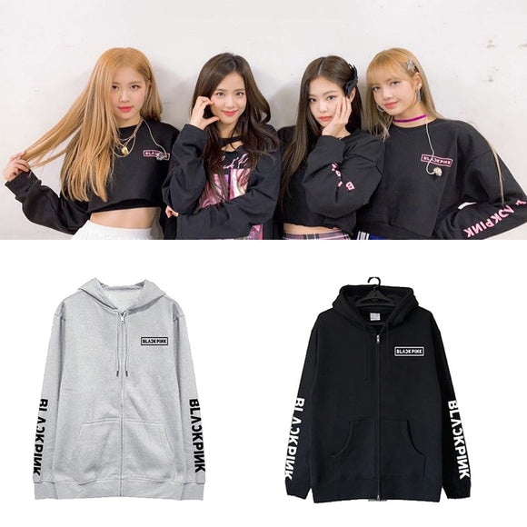 BLACKPINK Logo Simple Hoodie ( 3 Colors)