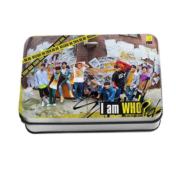 STRAY KIDS I AM WHO Lomo Card Box (40 pcs)