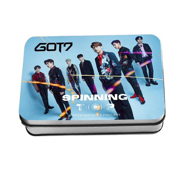 GOT7 SPINNING TOP Lomo Card Box (30 pcs)