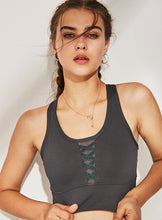 Load image into Gallery viewer, Front Lace Sports Bra - Elite Yoga