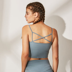 Yoga Top with Built in Bra - Elite Yoga