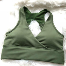 Load image into Gallery viewer, V-neckline Bra - Elite Yoga