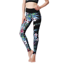 "Load image into Gallery viewer, ""Forest"" - Yoga Pants - Elite Yoga"