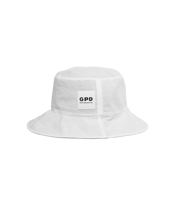 Reversible Bucket Hat White