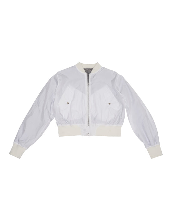 Boar MA-1 Jacket White