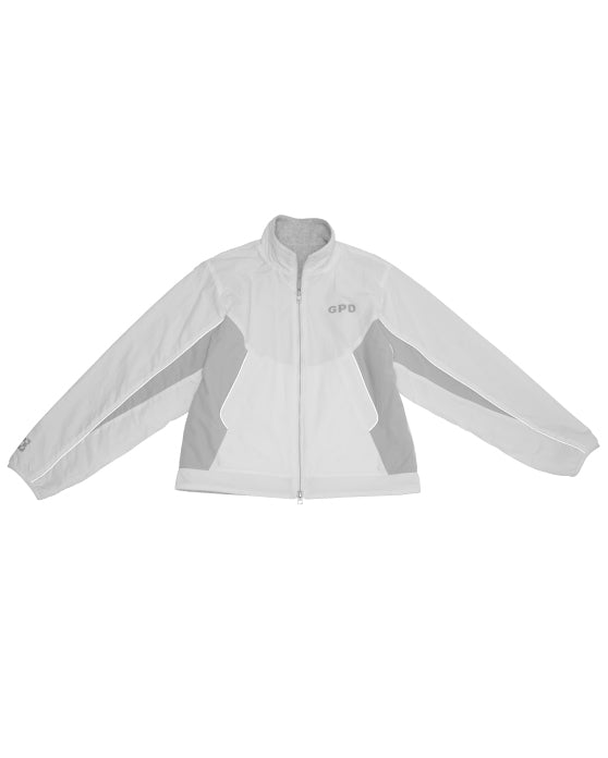 Reversible Windbreaker White