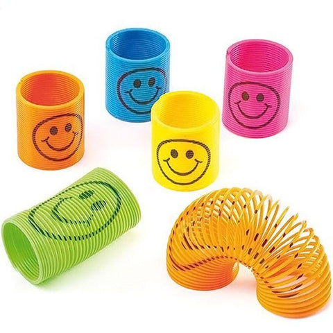 Springspirale Smiley (12er Pack)