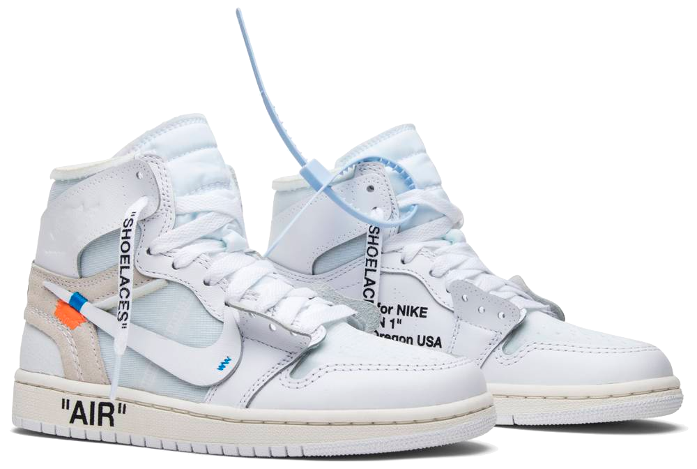 Jordan 1 Retro High Off-White White