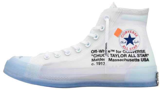 Converse Chuck Taylor All-Star Vulcanized Hi  Off-White