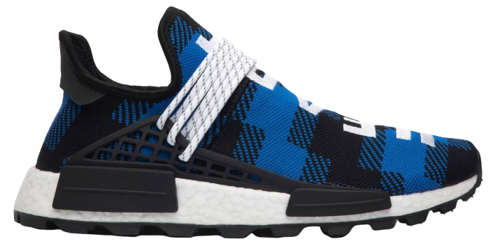 adidas NMD Hu Pharrell x BBC Blue Plaid