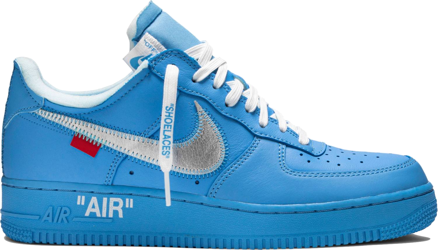 Air Force 1 Low Off White Mca University Blue Baza Bazaar