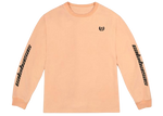adidas Yeezy Calabasas Long Sleeves Tee Neon Orange