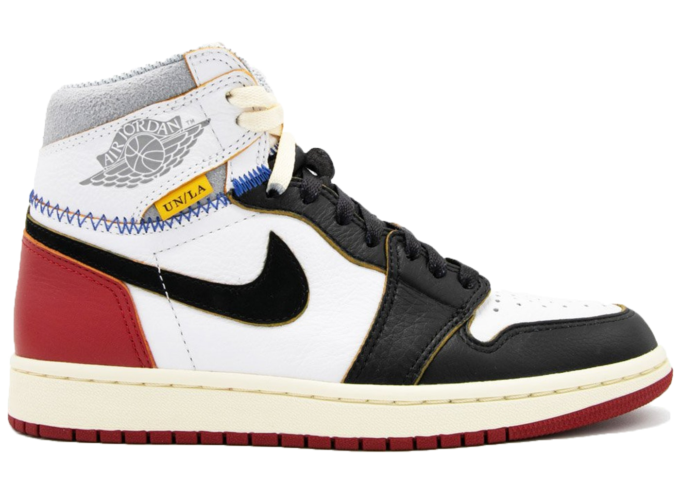 Jordan 1 Retro High Union Los Angeles Black Toe - Baza Bazaar