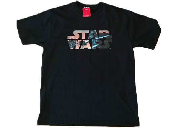 BAPE x Star Wars Darth Vader Concept Art Tee Black