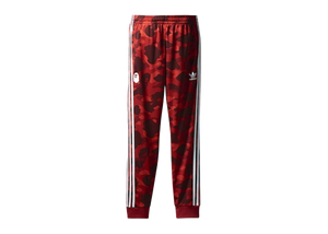BAPE x adidas adicolor Track Pants Raw Red