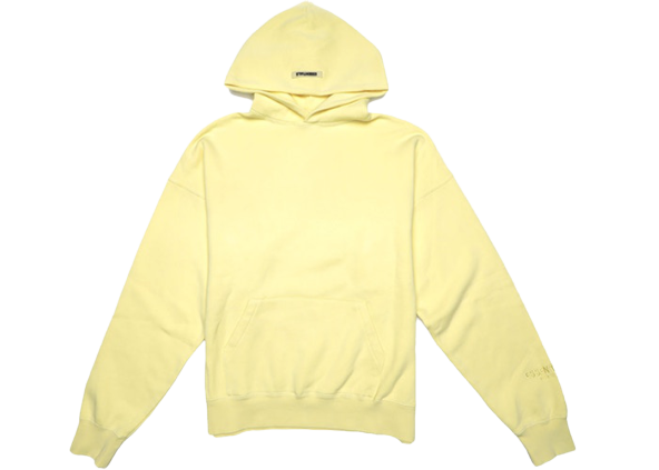 FEAR OF GOD ESSENTIALS Lemonade Pullover Hoodie Yellow