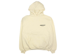 FEAR OF GOD Essentials Logo Pullover Hoodie (SS19) Cream