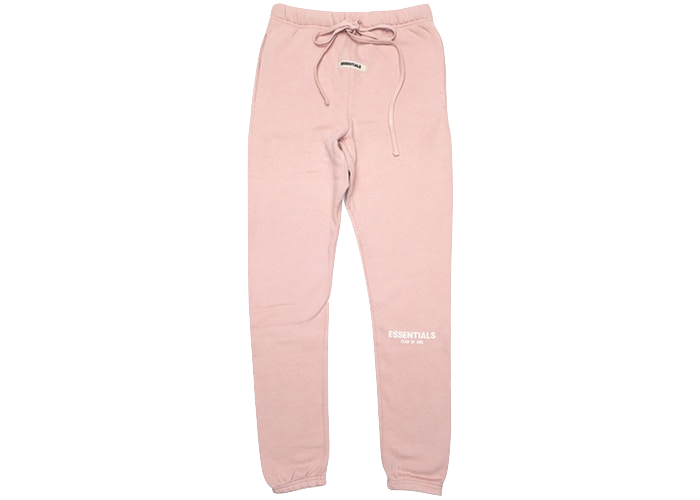 FEAR OF GOD ESSENTIALS Pink Sweatpants Blush