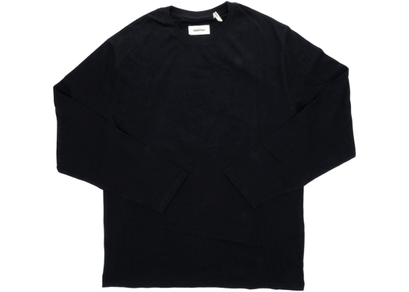 FEAR OF GOD Essentials Boxy Graphic Long Sleeve T-shirt Black
