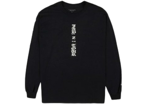 Fear of God Jay-Z The Forum Longsleeve T-shirt Black - Baza Bazaar