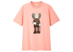 KAWS x Uniqlo Companion Tee (US Sizing) Pink