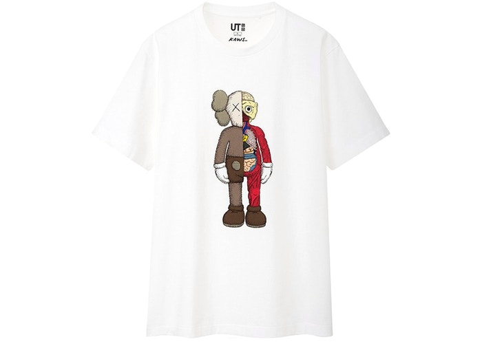 KAWS x Uniqlo Flayed Tee (US Sizing) White