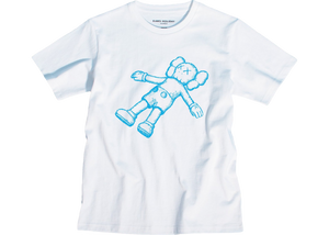 Kaws Holiday Companion Tee White - Baza Bazaar