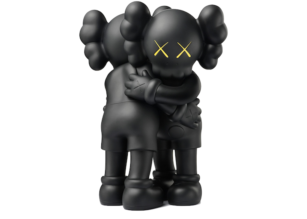 Kaws Together Vinyl Figure Black - Baza Bazaar