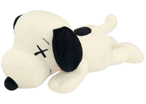 KAWS x Uniqlo x Peanuts Snoopy Plush (Large) White