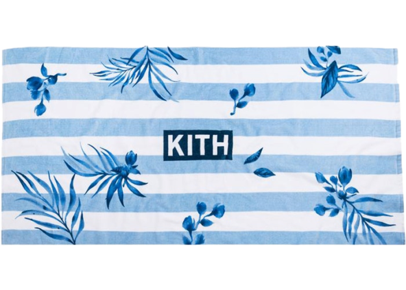 Kith Floral Stripe Beach Towel Floral/Multi