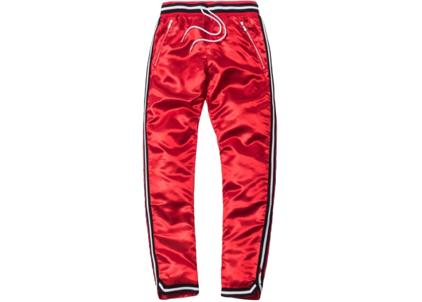 Kith x Mitchell & Ness Satin Warm-Up Pant Miami